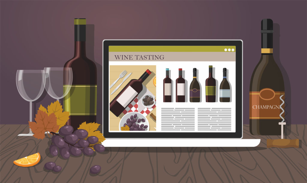 winery website