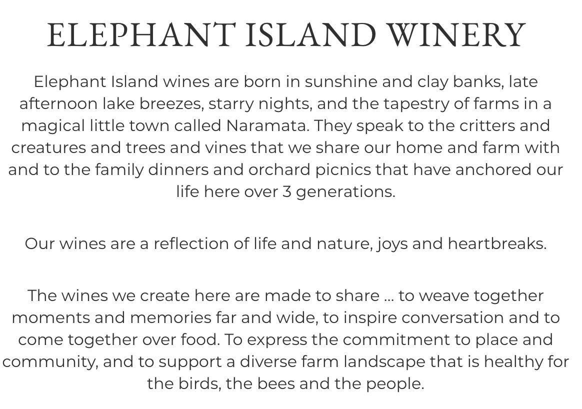 Elephant Island Winery
