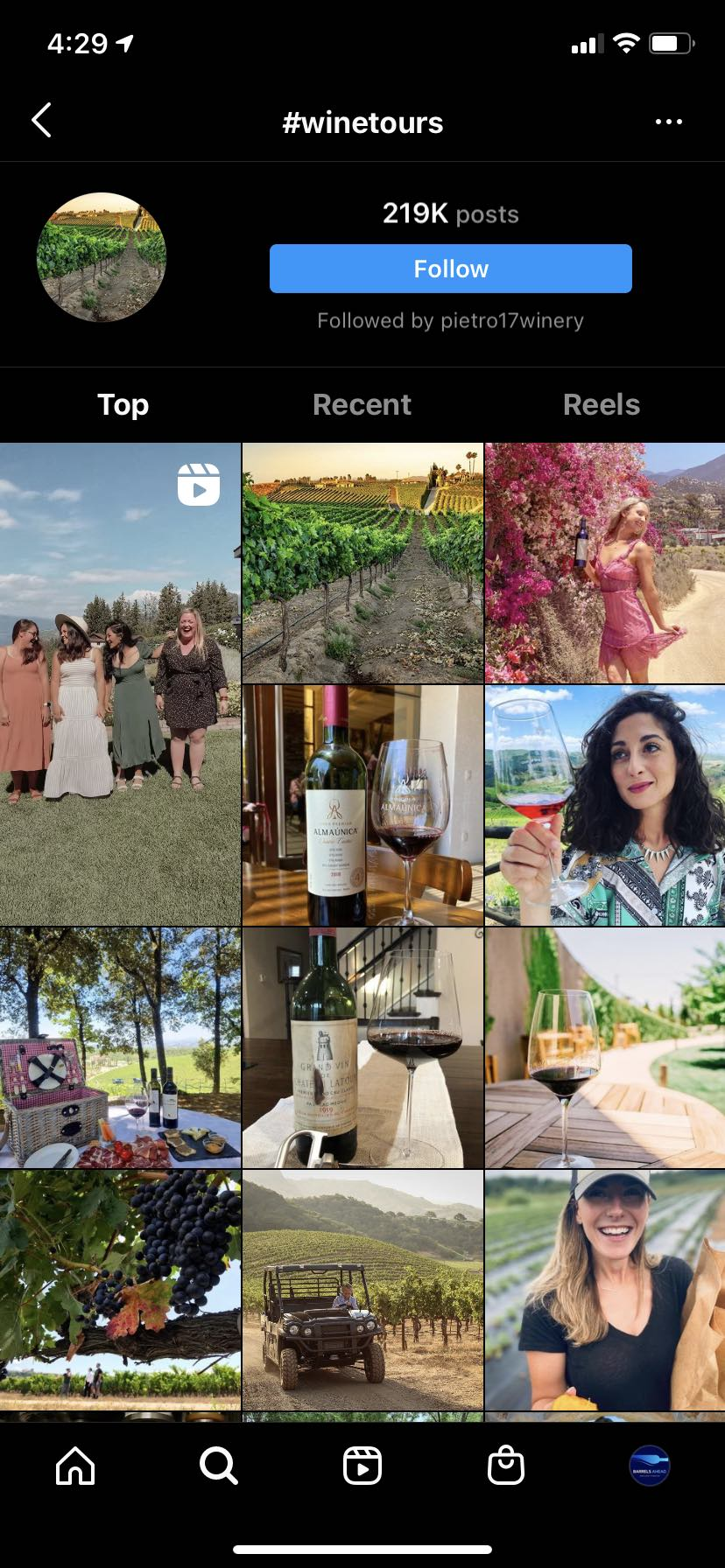 #winetours